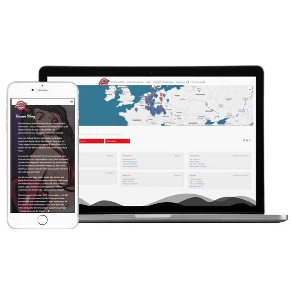Webdesign & Store Locator