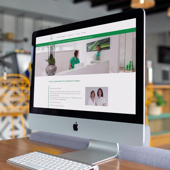 Gestaltung und Programmierung einer Webseite